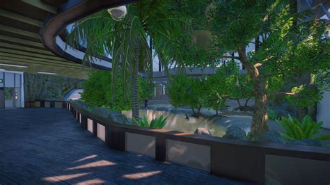 All the spaces flow into one another, and the idea of distinct rooms dissolved. Wingapo Zoo | Frontier Forums