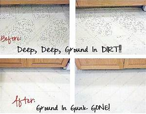 Getting ground in dirt out of vinyl flooring one good for How to get stains off linoleum floor