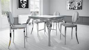 Table Haute En Verre : table haute avec plateau en verre et pieds m talliques betty mobilier moss ~ Teatrodelosmanantiales.com Idées de Décoration