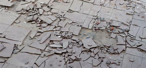 cleaning maintaining  encapsulating asbestos tile