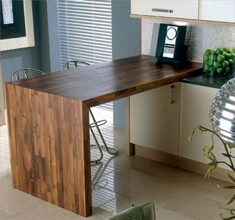 cuisine plan travail bois plan de travail de cuisine