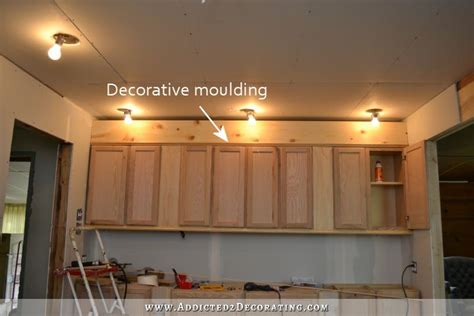 best finish for kitchen cabinets the wall of cabinets build is finished in cabinet lights 7679