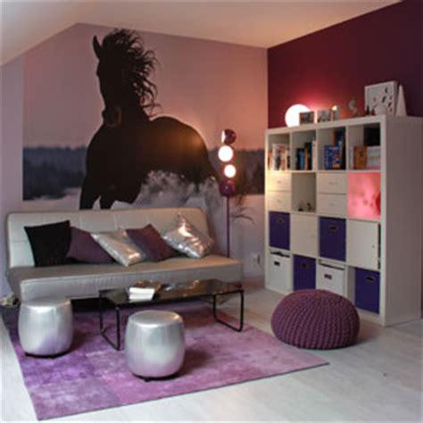 chambre d 39 ado violette après deco