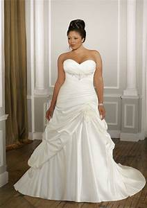 plus size wedding dress wedding gown for the full figured With slimming dresses to wear to a wedding