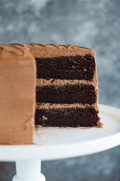 chocolate cake recipe brown eyed baker
