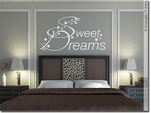 Wandtattoo Schlafzimmer Sweet Dreams Wandsticker