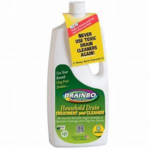 Drainbo 32 Oz Drain Treatment Clog Liquid Grease Fats