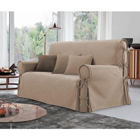 housse canapé 2 places pas cher housse de canapé 2 places à nouettes en coton pas cher à