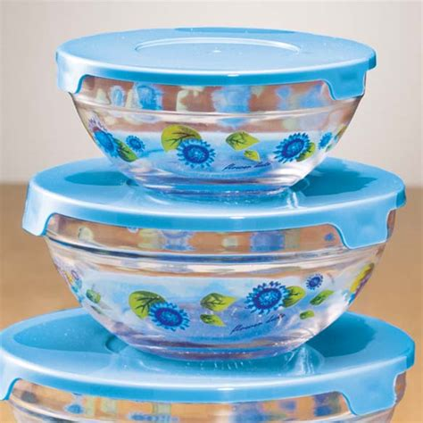 glass bowls with lids floral glass bowls with lids floral glass bowls walter 3764
