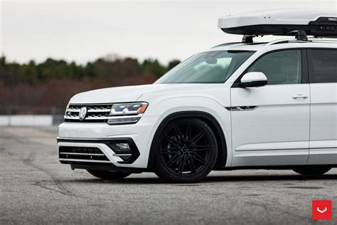 volkswagen atlas cv series cv vossen wheels