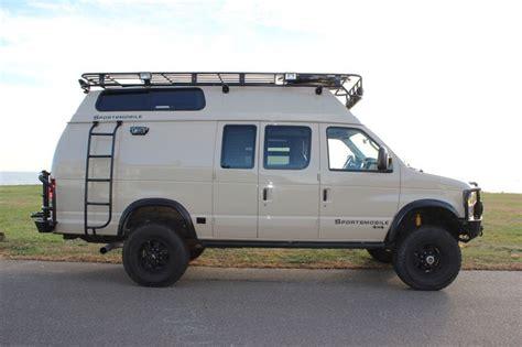 Sportsmobile Custom Camper ...aluminess Roof Rack, Front