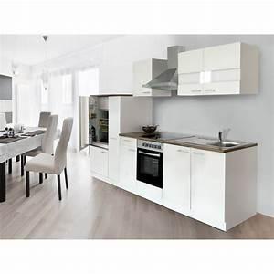 Küchenzeilen Ohne Geräte : respekta k chenzeile ohne e ger te 300 cm wei kaufen bei obi ~ Orissabook.com Haus und Dekorationen