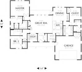 the floor plan exles for homes ranch house plan with 3 bedrooms and 3 5 baths plan 3153