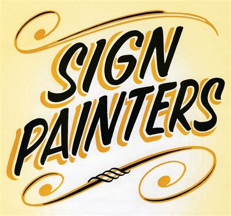 sign painters documentary book about sign painting in america