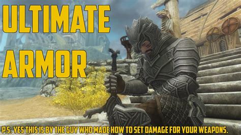 how to create god armor unlimited damage new skyrim how to create god armor unlimited damage skyrim Skyrim