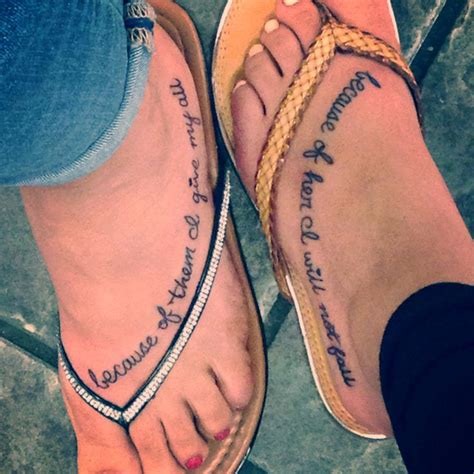 Lovely and Adorable Mother Daughter Tattoos
