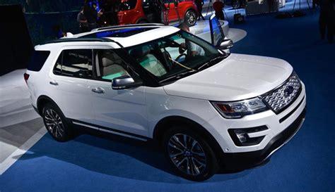 ford explorer concept price  specs review auto