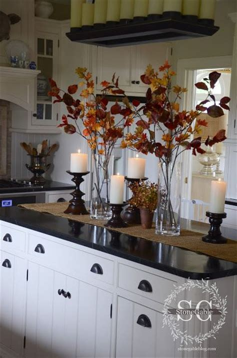 Lovely Decorating Kitchen Table For Fall  Kitchen Table