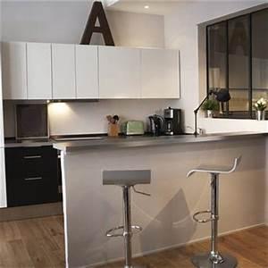 petite cuisine 15 cuisines de petite surface pour faire With meuble cuisine petit espace 16 escalier maison bois moderne deco maison moderne