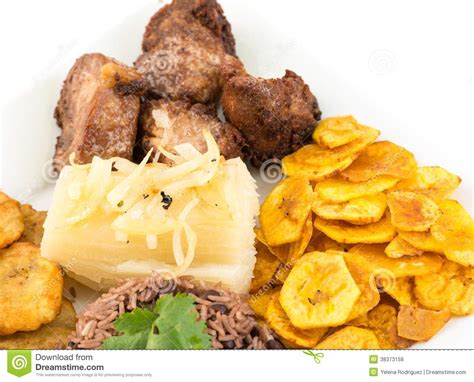 cuisine cubaine cuisine cubaine traditionnelle photo stock image 38373158