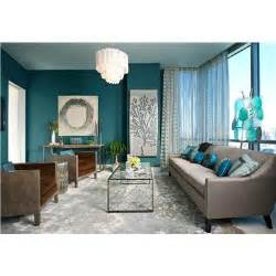 dark teal walls love it with brown furniture home
