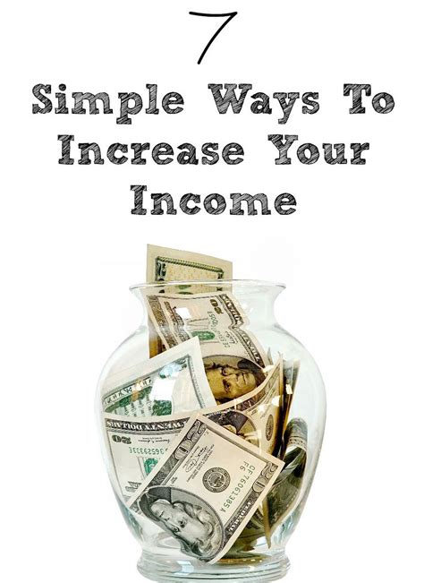 7 Simple Ways To Increase Your Income  An Unlimited