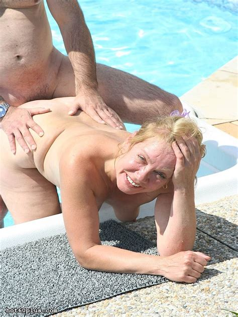 nice ass grandma ludmila is fucking by the pool pichunter