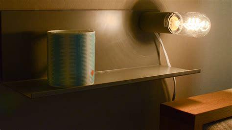 bedside shelf l homewares lighting natural bed