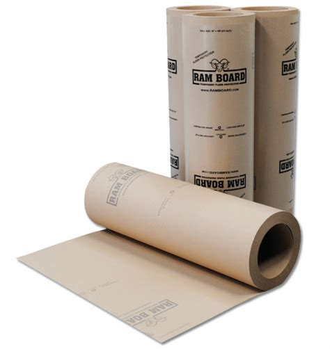 home depot builders paper ram board is temporary floor protection ramboard