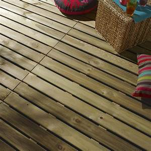dalle bois pin l100 x l100 cm x ep28 mm leroy merlin With dalle de terrasse en bois 1mx1m
