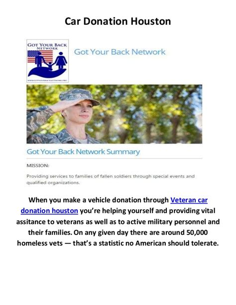 Donate Your Car Houston - veteran car donation houston tx