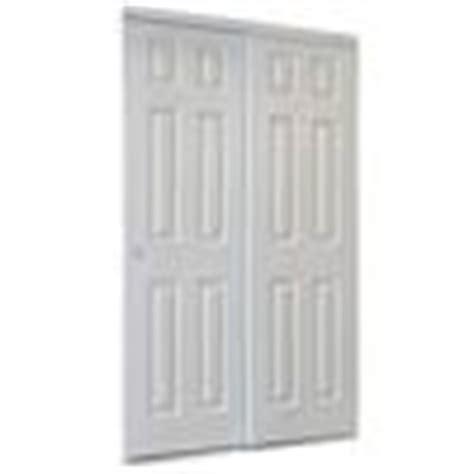 shop reliabilt white 6 panel sliding closet interior door