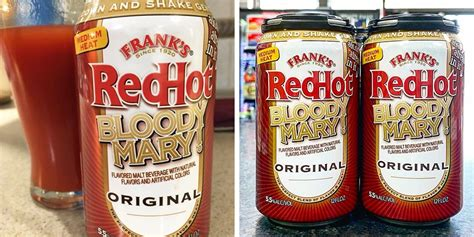 franks redhot  serving   ready  drink bloody mary