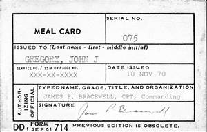 usmc meal card template 28 images usmc meal card With dd form 714 template