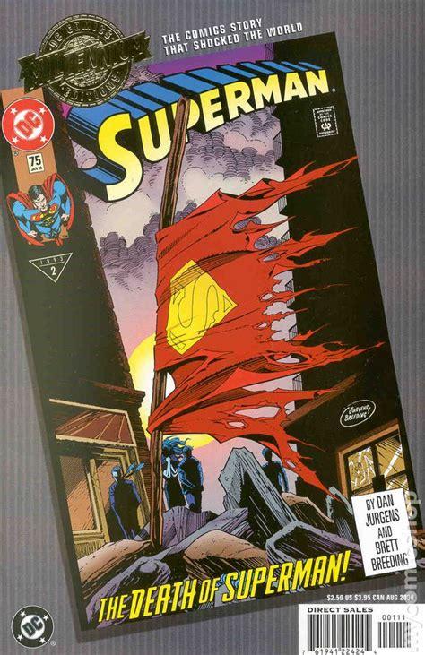 millennium edition superman  comic books