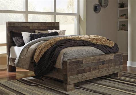 derekson multi gray queen panel bed louisville overstock