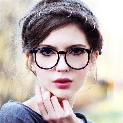 Vintage Round Clear Lens Glasses ? Lyfie