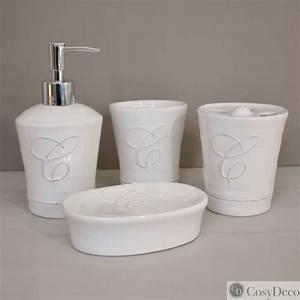 Accessoires Pour Salle De Bain : accessoire salle de bain retro maison design ~ Edinachiropracticcenter.com Idées de Décoration