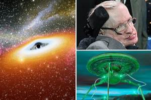 Stephen Hawking: Black hole could be a way in to alien ...