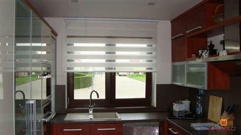Gardine Für Küchenfenster by K 252 Chenfenster Mit Duo Rollo Heimtex Ideen