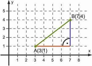 Koordinatensystem Berechnen : satz des pythagoras berechnungen am rechtwinkligen dreieck ~ Themetempest.com Abrechnung