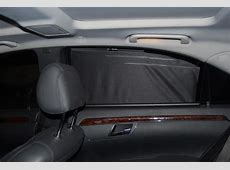 Rear sunblinds Not factory installed? MBWorldorg Forums