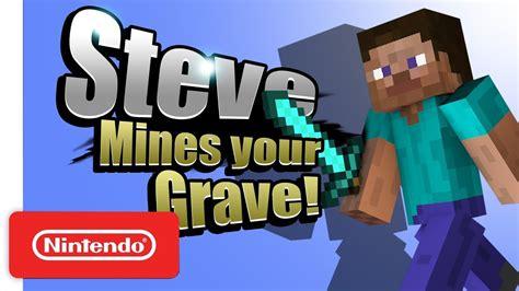 steve smash bros ultimate character trailer nintendo