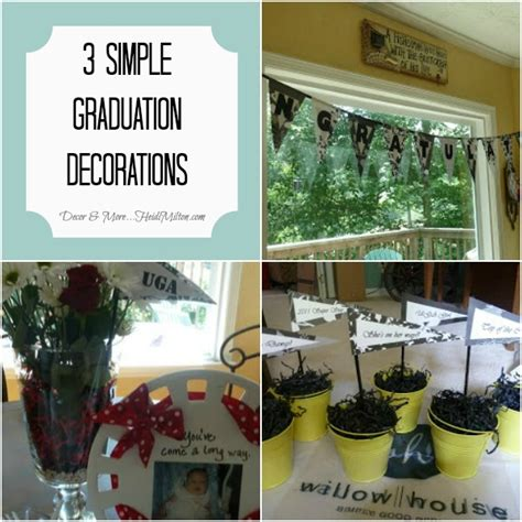 Cheap Graduation Decorations Diy by 3 Simple And Inexpensive Graduation Decorations