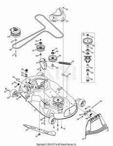 Troy Bilt 17arcbdt066 Mustang Xp Pivot S 46  2015  Parts