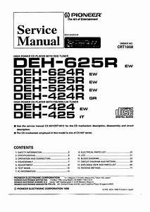 pioneer deh425 service manual immediate download With pioneer deh wiring diagram likewise pioneer deh wiring diagram on