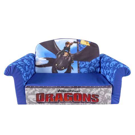 spin master marshmallow furniture flip open sofa dragons