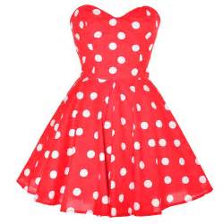red and white polka dot dress iris gown