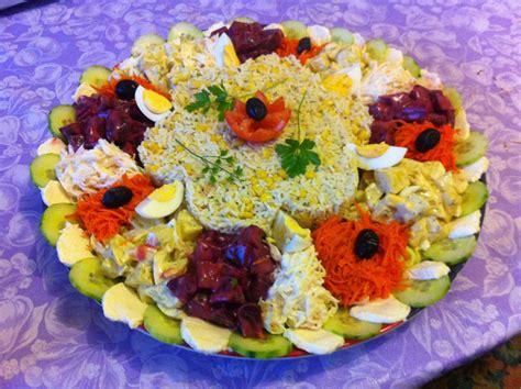 cuisine simple et saine salade composée pour grande tablée entrée cuisine saine