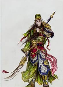 Guan Yu from 3 Kingdoms. by Tinnysasianx on DeviantArt
